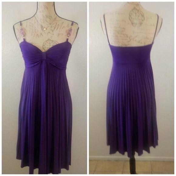 Violet Empire Dress